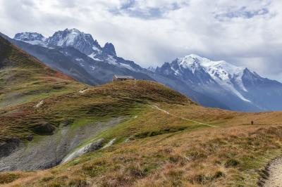 初秋のシャモニーとラヴォーを巡る旅(6)バルムのコルとバルム山一周ハイキング