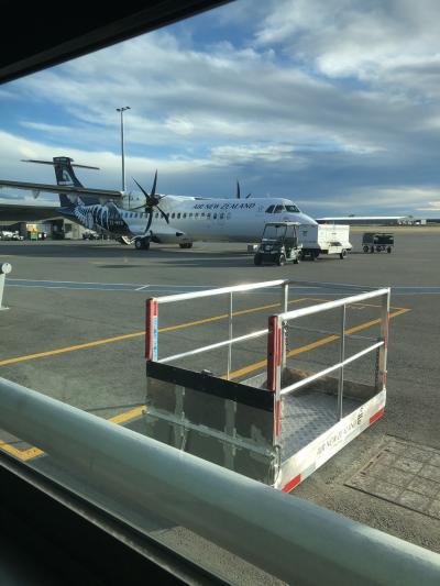 ニュージーランド航空 搭乗記 国内線クライストチャーチーダニーデン 2019