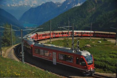 ~ 美しきアオスタとスイス5大名峰8日間 ~ レーティッシュ鉄道ベルニナ線 & ベリンツォーナ