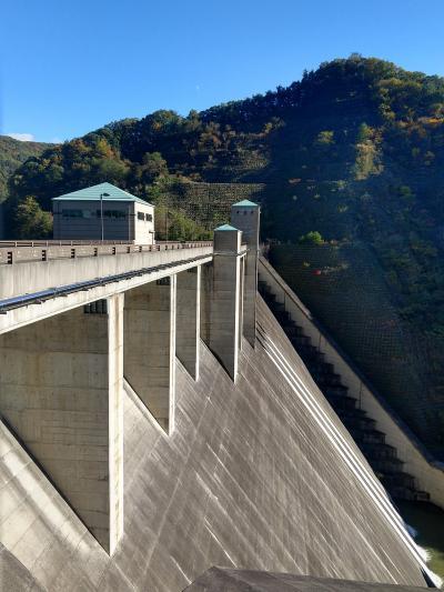 富士川水系のダムを訪問