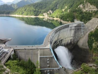 2019年9月17日:ダムカード収集-43 & 関東道の駅SR番外編8 (その1) 名実ともに日本一の黒部ダム訪問・扇沢から黒部ダム右岸まで