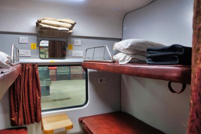 【2019海外】3連休でインドのジョドプル #02 ~往路編 デリーから寝台列車で12時間~