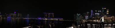 いや~~~ん旅行で行く初めてのシンガポール とりあえずマリーナベーサンズとマーライオン