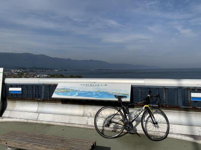 2019年11月 びわ湖バレイまでサイクリング