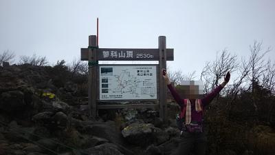八ヶ岳、台風19号の影響があるのに蓼科山登山