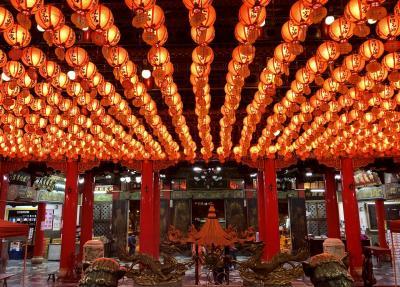 台湾 高雄2019.11月①「水陸戯獅甲比賽」 到着日、台北から高雄へ/三鳳宮、六合夜市