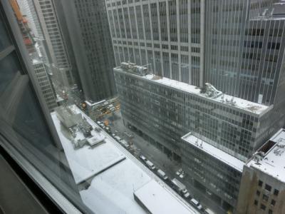 §ニューヨーク到着ヒルトン泊・ウルフギャングでステーキ・極寒シーズンのニューヨーク母子3人旅5泊7日①・・・1・2日目