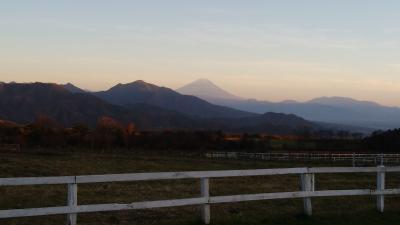 晩秋の山梨への旅 その①清里高原は美しかった!