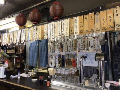 昭和の酒場めぐり.No6 昭和の雰囲気を訪ねて249店、2020年5月20日更新・自由が丘「ほさかや」