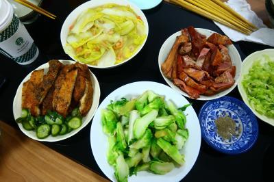日帰り深セン3★台湾人の友人宅で台湾の家庭料理!