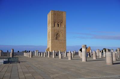 アッサラーム・アレイコム モロッコ 1.ラバトの青い空