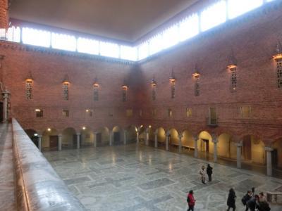 2019冬 スウェーデン01:ストックホルム 市庁舎とガムラスタンと国立美術館