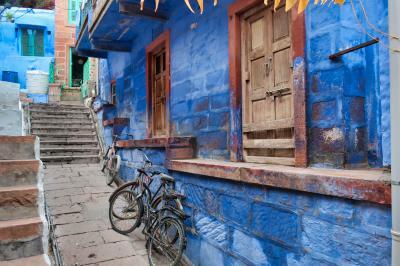 【2019海外】3連休でインドのジョドプル #04 ~散策 午後の部 サダール市場と青の町~