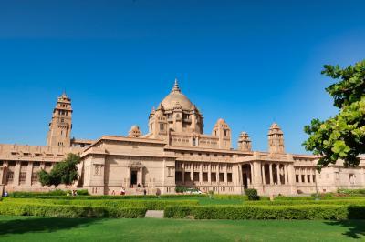 【2019海外】3連休でインドのジョドプル #05 ~最終日 ウメイド・バワン宮殿と最後の町歩き~