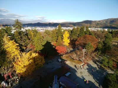 低予算タビ to 会津若松・大内宿・塔のへつり 1