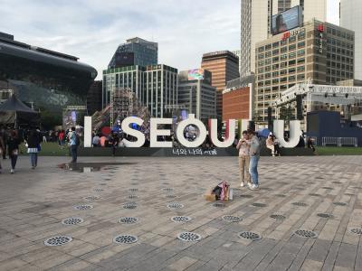 2019年5月、仕事帰りにソウルへ!