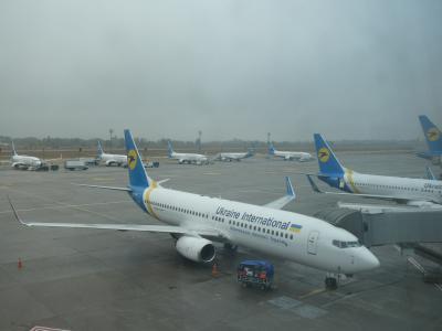 2019SEPウクライナ・キエフ・市内散策・独立広場にあるウクライナホテル滞在記・ウクライナ航空でゲートピンポン頂きました!?
