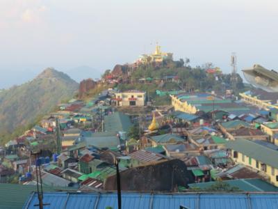 ミャンマー 「行った所・見た所」 ゴールデンロック周辺を散策しました