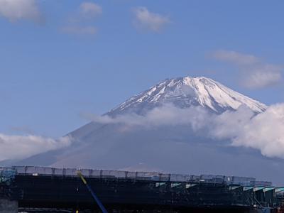 富士山は時々刻々変化!