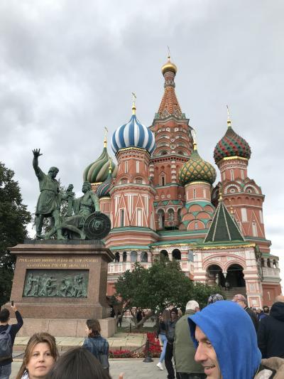モスクワに行って来ました