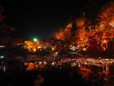 2019.11 秋の紅葉めぐり+α(3)紅葉の名所、香嵐渓の紅葉ライトアップを楽しもう。
