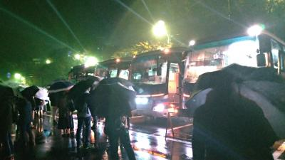新木場発、夜行列車は秩父へ行く~雨の中の星空観察編~