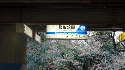 千葉市動物公園へ行く(おまけで中検)