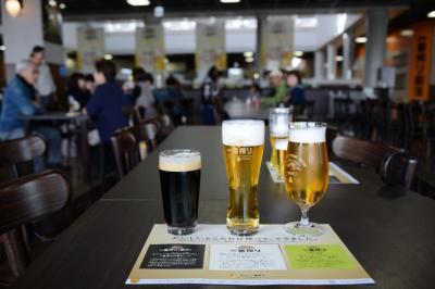 ビール工場見学と有馬温泉でランチビュッフェ