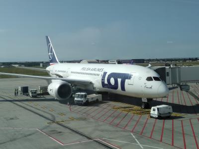 2019SEPハンガリー・ブタペスト・LOTポーランド航空で帰国・ブタペスト⇒ソウルの直行便があるなんて!知りませんでした