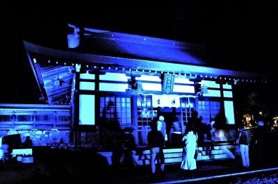 紅葉を追う、伊賀上野城から湖東、ライトアップの胡宮神社と教林坊へ!