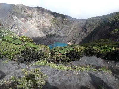 コスタリカ サンホセから日帰りツアー(続き)(Volcan Irazu, Costa Rica)