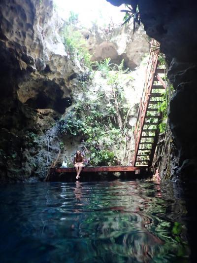 ビバ メヒコ メリダからセノーテツアーに参加しました。
