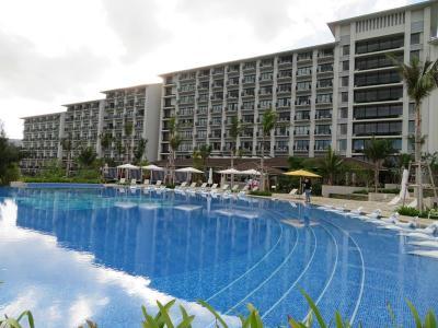 ホテルライフを楽しむ沖縄(10)ハレクラニ沖縄。朝のおさんぽ