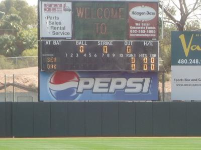 アリゾナ州 フェニックス - アスレチックスのムニシバル スタジアム
