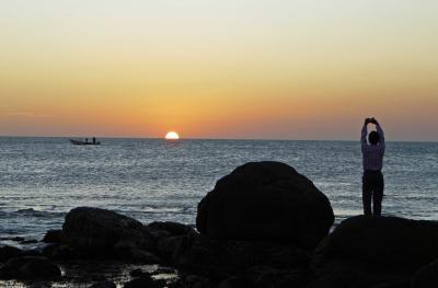 コモリン岬で金環食&楽園の南インド 2010.1.13~19 前編