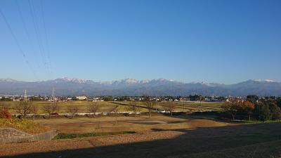 立山連峰冠雪
