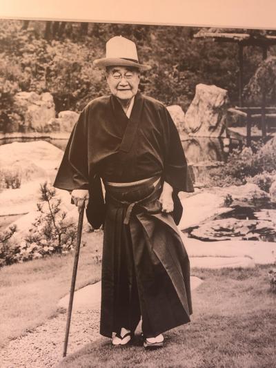 戦後日本を代表する宰相として知られている吉田茂の大礒旧邸宅を見学