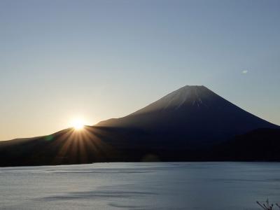 夜明け・リベンジ in 本栖湖 2019.11.20