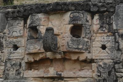 ビバ メヒコ メリダからツアーでマヤパン遺跡・アカンケへ行きました。