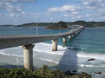おいでませ山口へ~山口は海あり、山ありの良いところだった①角島大橋と元の隅神社編
