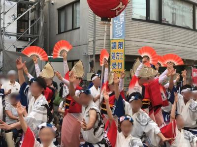 埼玉・北浦和阿波おどり大会2019