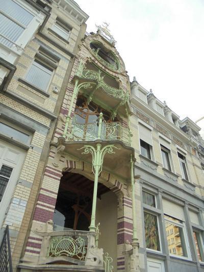 夏のフランス・ベルギー・ルクセンブルク 9.ブリュッセル東部建築巡りとホテルメトロポール