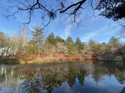 カーリング体験と紅葉ハイキング雲母池と見晴台