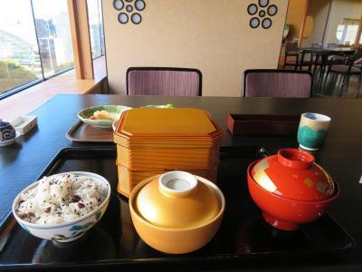 秋の北陸ロマン(27)ホテル日航金沢・弁慶の和朝食