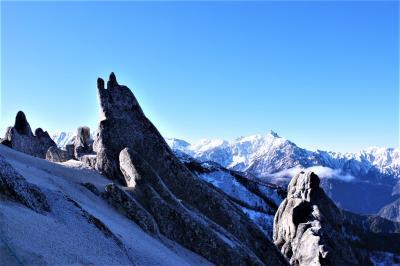 念願の雪の北アルプス!燕岳へ
