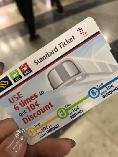 シンガポール MRT 地下鉄の乗り方♪