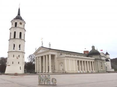 ヴィリニュス旧市街を一筆書き散歩