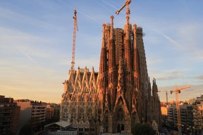 妻と初めてのスペイン旅行(2) バルセロナ 1日目