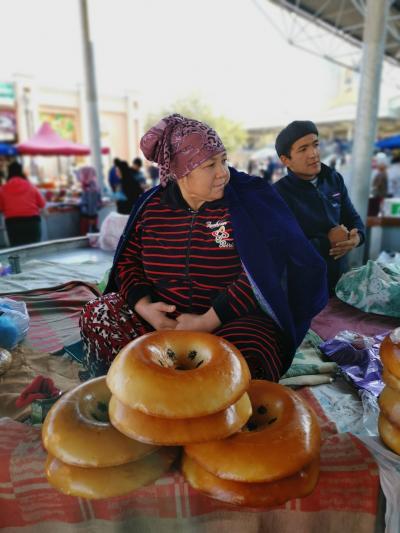 ウズベキスタン2019・・・(2)サマルカンド・その2 文明の交差点 人種のるつぼ