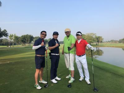 ANA全日空ビジネスクラスで行くバンコク4泊5日ゴルフの旅